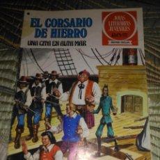 Tebeos: EL CORSARIO DE HIERRO Nº 46 SERIE ROJA 1ª EDICIÓN 1977. Lote 142982130