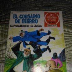 Tebeos: EL CORSARIO DE HIERRO Nº 47 SERIE ROJA 1ª EDICIÓN 1977. Lote 142982430