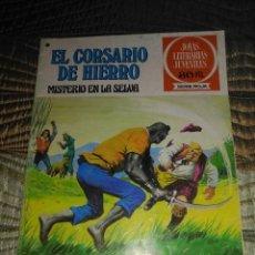 Tebeos: EL CORSARIO DE HIERRO Nº 47 SERIE ROJA 1ª EDICIÓN 1977. Lote 142982502