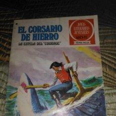 Tebeos: EL CORSARIO DE HIERRO Nº 50 SERIE ROJA 1ª EDICIÓN 1977. Lote 142982674