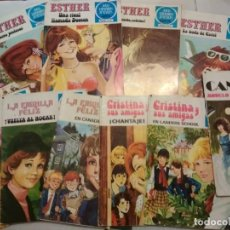 BDs: 6 COMICS JOYAS LITERARIAS JUVENILES. ESTHER, CANDY, LA FAMILIA FELIZ. Lote 143042586