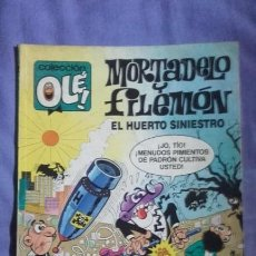 Tebeos: MORTADELO Y FILEMON-OLE-328-M88-EL HUERTO SINIESTRO. Lote 143104594