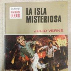 Tebeos: COLECCIÓN HISTORIAS COLOR NÚM. 5: LA ISLA MISTERIOSA. Lote 143149290