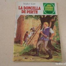 Tebeos: JOYAS LITERARIAS JUVENILES Nº 233 - LA DONCELLA DE PERTH - WALTER SCOTT. Lote 143177706