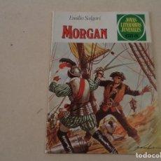 Tebeos: JOYAS LITERARIAS Nº 242 - MORGAN - EMILIO SALGARI. Lote 143177974