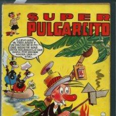 Tebeos: SUPER PULGARCITO Nº 12 - BRUGUERA AÑOS 40 - ORIGINAL - PROCEDE DE ENCUADERNADO - VER DESCRIPCION. Lote 143205414
