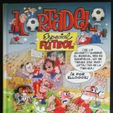 Tebeos: MORTADELO ESPECIAL FUTBOL - EDICIONES B, 1ª EDICION, ABRIL 2010. Lote 143230990