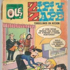 Tebeos: OLÉ!. ZIPI Y ZAPE. Nº 127. BRUGUERA. 2ª EDC. 1979. (C/A47). Lote 143295774