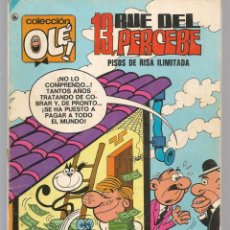 Tebeos: OLÉ!. 13, RUE DEL PERCEBE. Nº 58. BRUGUERA. 7ª EDC. 1986. (C/A47). Lote 143297422