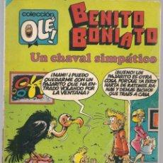 Tebeos: OLÉ!. BENITO BONIATO. Nº 8. BRUGUERA. 1ª EDC. 1984. (C/A47). Lote 143298614