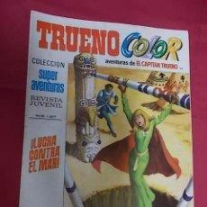 Tebeos: TRUENO COLOR. Nº 92. LUCHA CONTRA EL MAR. PRIMERA EPOCA. BRUGUERA.. Lote 143347646