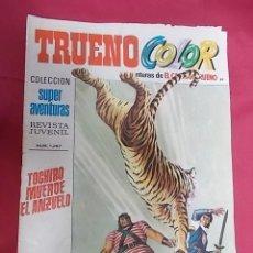 Tebeos: TRUENO COLOR. Nº 89. TOCHIRO MUERDE EL ANZUELO. PRIMERA EPOCA. BRUGUERA.. Lote 143349018