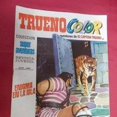 Tebeos: TRUENO COLOR. Nº 88. ENIGMA EN LA ISLA. PRIMERA EPOCA. BRUGUERA.. Lote 143349082