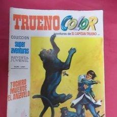 Tebeos: TRUENO COLOR. Nº 87. TOCHIRO MUERDE EL ANZUELO. PRIMERA EPOCA. BRUGUERA.. Lote 143349174