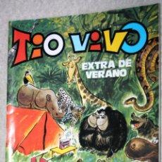 Tebeos: TÍO VIVO - EXTRA DE VERANO 1981 - BRUGUERA - 100 PÁGINAS. Lote 143354202