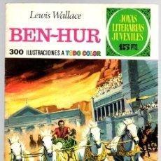Tebeos: BEN HUR. LEWIS WALLACE. JOYAS LITERARIAS JUVENILES. Nº 7. AÑO 1970. Lote 143391656