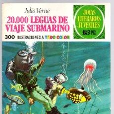 Tebeos: 20.000 LEGUAS DE VIAJE SUBMARINO. JULIO VERNE. JOYAS LITERARIAS JUVENILES. Nº 4. AÑO 1970. Lote 143392409