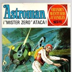 Tebeos: ASTROMAN. MISTER ZERO ATACA. GRANDES AVENTURAS JUVENILES. Nº 60. AÑO 1973. Lote 143393145