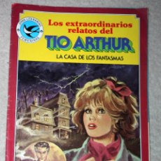 Tebeos: JOYAS LITERARIAS FEMENINAS. Nº 108. TIO ARTHUR. LA CASA DE LOS FANTASMAS. Lote 143526874
