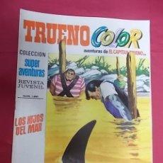 Tebeos: TRUENO COLOR. Nº 84. LOS HIJOS DEL MAR. PRIMERA EPOCA. BRUGUERA. Lote 143540614