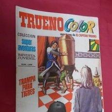 Tebeos: TRUENO COLOR. Nº 81. TRAMPA PARA TIGRES. PRIMERA EPOCA. BRUGUERA. Lote 143543486