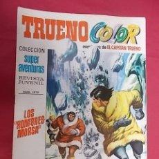 Tebeos: TRUENO COLOR. Nº 75. LOS HOMBRES MORSA. PRIMERA EPOCA. BRUGUERA. Lote 143545750