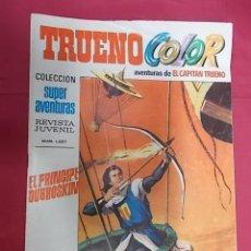 Tebeos: TRUENO COLOR. Nº 67. EL PRINCIPE DUBROSKIN. PRIMERA EPOCA. BRUGUERA. Lote 143547402