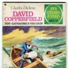 Tebeos: CHARLES DICKENS DAVID COPPERFIELD JOYAS LITERARIAS JUVENILES Nº 8 EDIT. BRUGUERA AÑO 1970. Lote 143551818