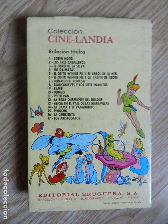 Tebeos: EL OSITO WINNIE PU Y LA CASITA DE IGORE. COLECCION Cine-landia Nº 6 BRUGUERA, 1ª EDICION 1975 Milne - Foto 2 - 143575126