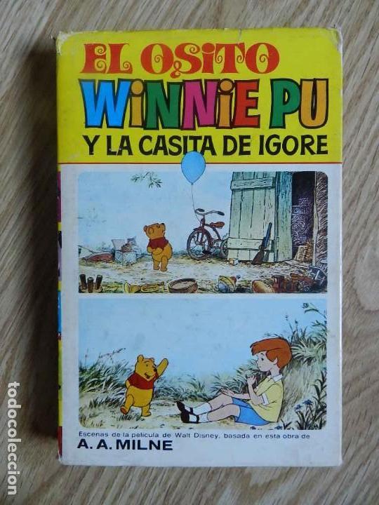 EL OSITO WINNIE PU Y LA CASITA DE IGORE. COLECCION CINE-LANDIA Nº 6 BRUGUERA, 1ª EDICION 1975 MILNE (Tebeos y Comics - Bruguera - Otros)