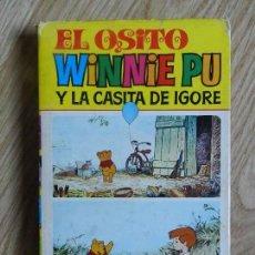 Tebeos: EL OSITO WINNIE PU Y LA CASITA DE IGORE. COLECCION CINE-LANDIA Nº 6 BRUGUERA, 1ª EDICION 1975 MILNE. Lote 143575126