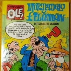 Tebeos: COLECCIÓN OLÉ. - MORTADELO Y FILEMÓN. DETECTIVES DE OCASIÓN - TOMO 11. 1° EDICIÓN 1971. EXCELEN. Lote 143582794