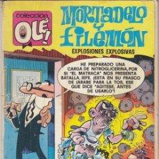 Tebeos: MORTADELO Y FILEMON BRUGUERA OLE Nº 152 2ª EDICION. Lote 143598142