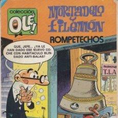 Tebeos: MORTADELO Y FILEMON BRUGUERA OLE Nº 207 2ª EDICION. Lote 143598262