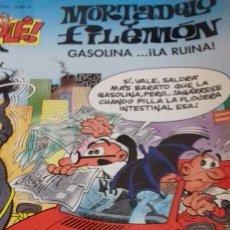 Tebeos: MORTADELO Y FILEMON GASOLINA. ...¡LA RUINA!. Lote 143609333