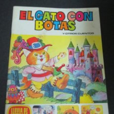 Tebeos: EL GATO CON BOTAS Y OTROS CUENTOS LLUVIA DE ESTRELLAS Nº 10 EDITORIAL BRUGUERA AÑO 1979. Lote 143611694
