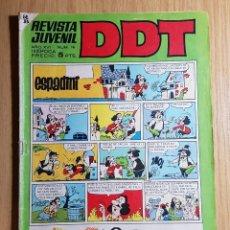Tebeos: BRUGUERA - TEBEO - REVISTA JUVENIL DDT - AÑO XVI - EPOCA III - Nº 16. Lote 143629122