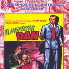 Tebeos: INSPECTOR DAN TOMO II (COLECCIÓN CUADERNOS DE LA HISTORIETA ESPAÑOLA 18). AUTOR: FERNANDO BERNABÓN. Lote 144898794