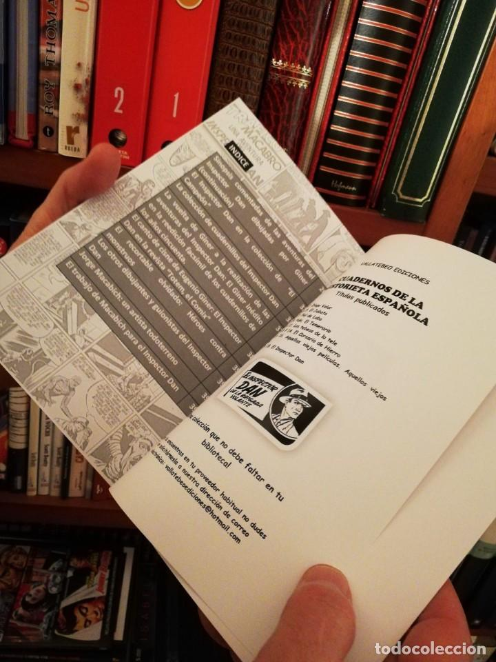 Tebeos: inspector dan tomo II (Colección Cuadernos de la Historieta Española 18). Autor: Fernando Bernabón - Foto 5 - 144898794