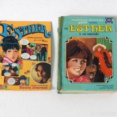Tebeos: ESTHER Y SU MUNDO Nº 1 BRUGUERA 1978 1ª EDICIÓN MÁS REVISTA ESTHER AÑO 1, Nº 13 BRUGUERA 1982. Lote 203424276