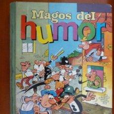 Tebeos: MAGOS DEL HUMOR VOLUMEN XI MORTADELO Y FILEMON DOÑA LIO FAMILIA CEBOLLETA BRUGUERA. Lote 143744398