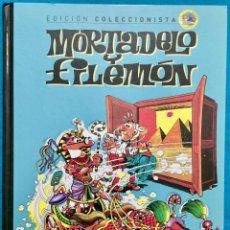 Tebeos: EDICIÓN COLECCIONISTA MORTADELO Y FILEMÓN.Nº 1. LA MAQUINA DEL CAMBIAZO. MAGÍN EL MAGO.ETC.. Lote 143772038