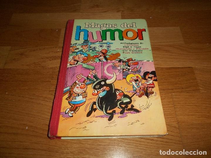 TEBEO MAGOS DEL HUMOR Nº III 3 BRUGUERA 1971 DIFÍCIL BUEN ESTADO. (Tebeos y Comics - Bruguera - Otros)