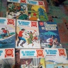 Tebeos: LOTE 10 EJEMPLARES EL CORSARIO DE HIERRO. Lote 144036561