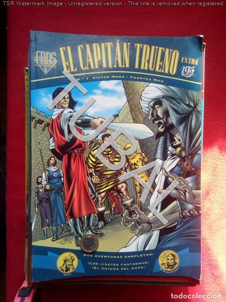 TUBAL 31 CAPITAN TRUENO EXTRA FANS VICTOR MORA FUENTES MAN DEL 1 AL 31 5,5 KILOS G4 (Tebeos y Comics - Bruguera - Corsario de Hierro)