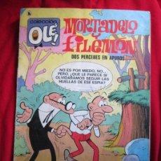 Tebeos: COLECCION OLE Nº 79 MORTADELO Y FILEMON DOS PERCEBES EN APUROS BRUGUERA 6ª ED. 1986. Lote 144604806