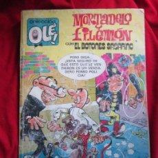 Tebeos: COLECCION OLE Nº222-M19 MORTADELO Y FILEMON EDICIONES B 2ª ED. 1987. Lote 144605090