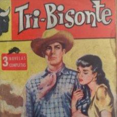 Tebeos: TRI-BISONTE NÚMERO 1 - 3 NOVELAS COMPLETAS - AÑO 1962 - ARGENTINA. Lote 144620197