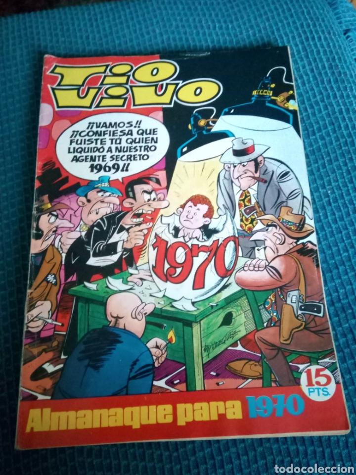 TIO VIO ALMANAQUE PARA 1970 (Tebeos y Comics - Bruguera - Tio Vivo)