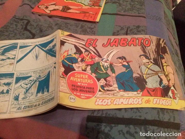 EL JABATO Nº 275 ¡LOS APUROS DE FIDEO! (Tebeos y Comics - Bruguera - Jabato)